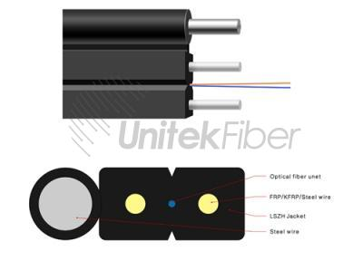 Outdoor FTTH Drop Fiber Cable (GJXFH)