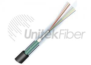 Supply GYXTW Armored Central Loose Tube Fiber Optic Cable