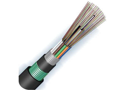 Aluminum Double Sheathed Loose tube Fiber Cable(GYTA53)