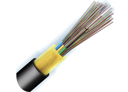 OSP All-dielectric Stranded Loose Tube Fiber Optical Cable GYFTY