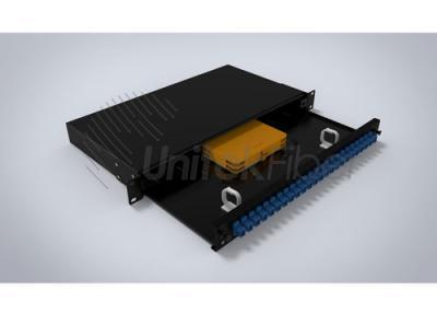 UF-JJ-CL-1U Sliding Terminal Fiber Patch Panel 12/24cores