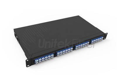 1U Jack Mounted 96fibers MPO & MTP Optical Patch Panel