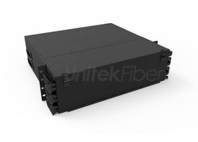 3U Jack Mounted 288F MPO & MTP Fiber Optical Box