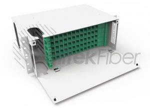 Manufacturer 19 Rack Mount Optical Distribution Fiber(ODF) Panel Box