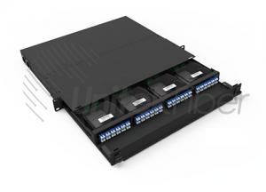 Sliding Type 96 Cores MPO & MTP Optical Patch Panel