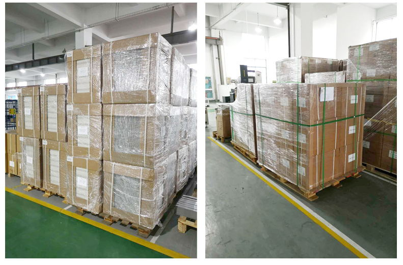 Manufacturer 19 Rack Mount Optical Distribution Fiber(ODF) Panel Box packing and shipping