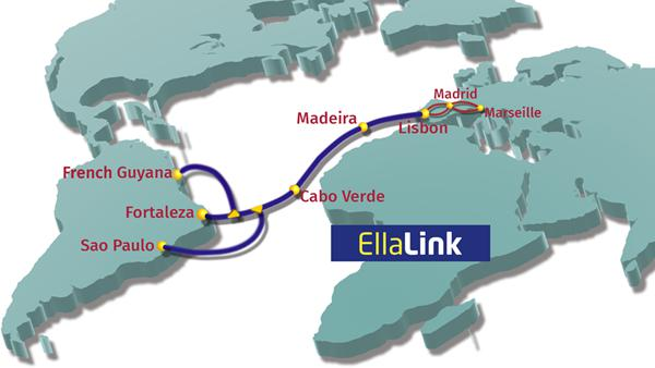 Brazil-European Submarine Cable System EllaLink Launches Marine Path Survey