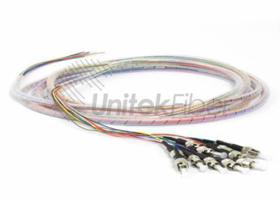 ST 12 Colored Tight Buffered Pigtails UPC APC G657A