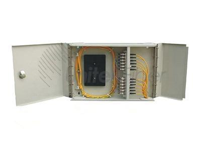 12 Port Wall Mount ODF Fiber Optic Distribution Cabinet