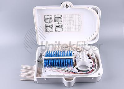 Outdoor Water-proof FTTH Distribution Terminal Box 24 ports