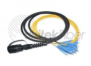 CPRI ODVA Fiber Optical 7.0mm Outdoor Fiber Optic FTTA Assembly