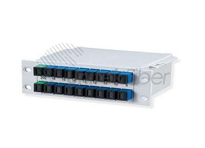 LGX ABS Fiber PLC Splitter with SC, LC Ports - Fiber Optical Supplier