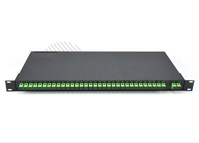 19 Inch Rack Chassis Optical PLC Splitter 1*32, 2*16