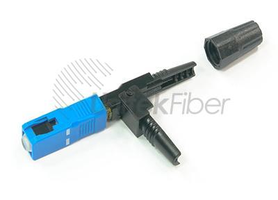 FTTH Fiber Optical Fast Connector SC UPC APC for Field Installation