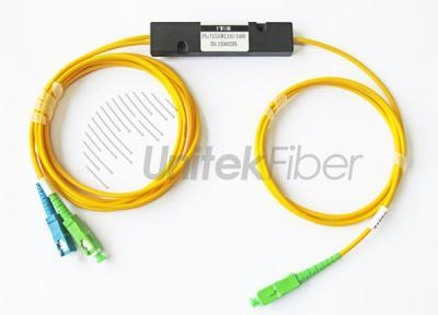Fiber Optic FBT Coupler 1x2 SC APC for EPON System