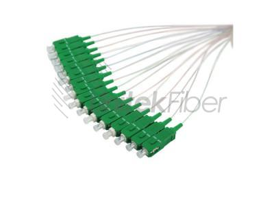 Fiber Optical PLC Splitter 1x16 0.9mm SC APC Connectors for PON Networks