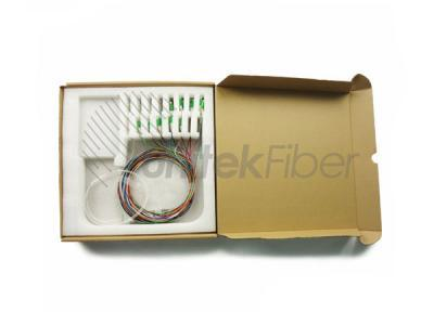 Manufacturing Steel Tube 1x8 Fiber Optic PLC Splitter