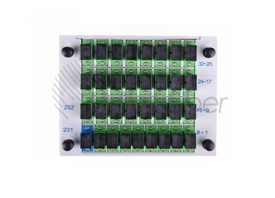Standard LGX Metal Box 1X32 Ports Fiber Optic Splitter for Passive Networks
