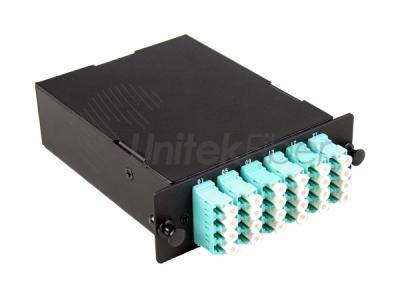 12 Cores 24 Cores MPO MTP Casstte Module Fiber Optic Patch Panel