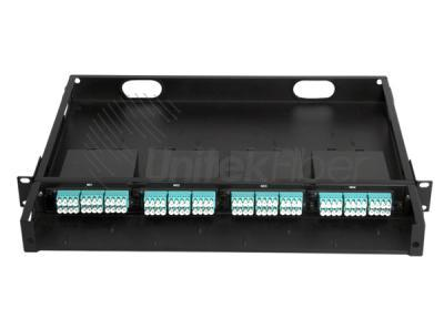 12 Ports to 144 Ports Fiber Optic Rack Mount MPO MTP Patch Panel for FTTH Network