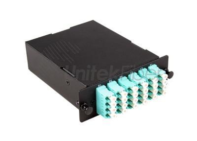 MPO MTP Fiber Optical Casstte Box OM3 12 Cores MPO LGX Metal Box