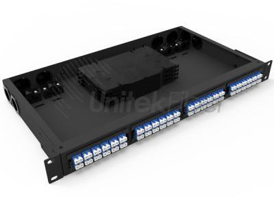Splicing Fiber Optic Patch Panel with 96 Fiber Splicing Tray for Data Center Cabling