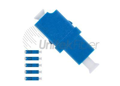 LC-UPC-to-LC-UPC-Fiber-Optic-Adapter-Plastic-Simplex-Single-Mode-Blue-Color-2