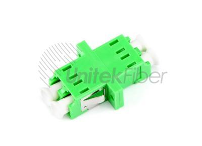 Supply LC/APC to LC/APC DX SM Flange Fiber Adapter Green 0.2dB for FTTH Network
