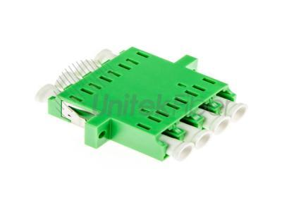 Factory Supply LC APC Single Mode Quad Fiber Optic Adapter/Mating Sleeves