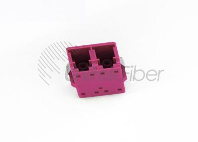 High Quality OM4 LC/UPC Plastic fiber optic Adapter/Coupler 0.2dB