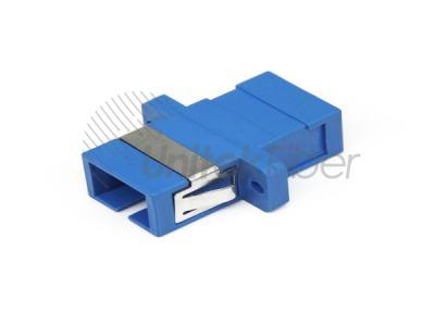 High Quality SC/UPC Single Mode Simplex Fiber Optical Adapter Blue