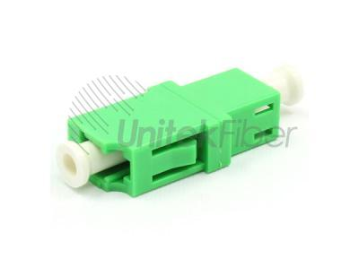 LC/APC - LC/APC Optical Fiber Coupler Simplex Single Mode Green Color
