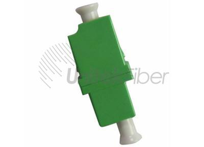 LC/APC - LC/APC Optical Fiber Mating Sleeve Simplex Single Mode Green