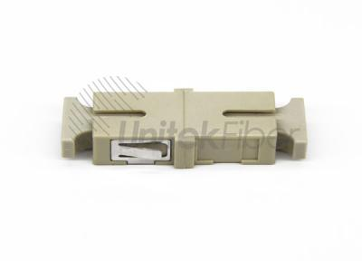 Manufacturer High Quality SC optical fiber adapter OM2 without flange