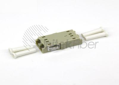 CATV Network LC/PC - LC/PU Optic Fiber Adapter Duplex OM1 with Short Ear