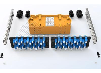 Slid out Optical Patch Panel 2U 48 fibers, 96 fibers for SC, LC, FC, ST Adapters