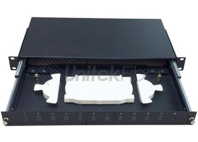 Best Selling 19 inch Sliding Fiber Optic Patch Panel Customized Design