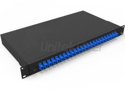 High Quality Fiber Optic Sliding Patch Panel 12 Ports, 24ports SC, LC, FC, ST Adapters