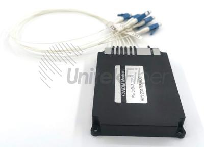6 Channel CWDM 1270-1610nm Fiber Optic Communication Equipment