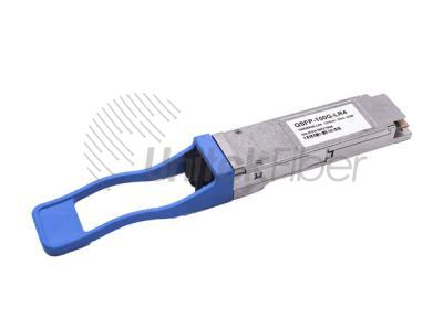 100G QSFP28 LR Optical Fiber Transceiver Wavelength 1310nm Transmission Distance 10km