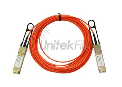 3M OM2 AOC 40G QSFP+ to QSFP+ Fiber Active Optical Cable