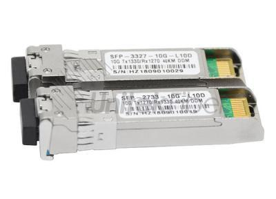 10G BIDI SFP+ Optical Transceiver Single Mode Module 10km for Networking Switches