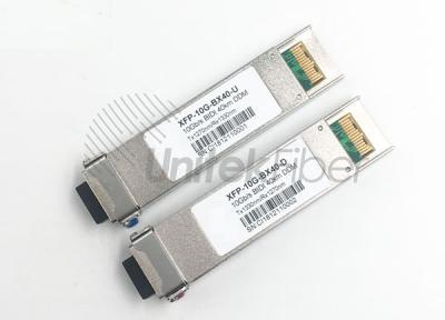 10G XFP BIDI Optical Transceiver T1270nm R1330nm 40KM
