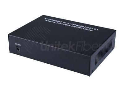 High Quality Gigabit Ethernet Network 8 Port PoE Fiber Switch With 1000M 2 Fiber Ports