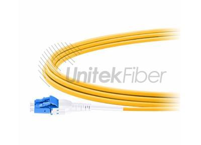 Fiber Optic Jumper LC/UPC to LC/UPC Uniboot Single Mode 3.0mm LSZH
