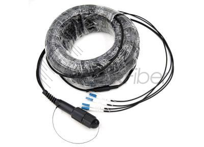 IP67 Waterproof Outdoor Armored Cable Assembly PDLC to PDLC Fiber Optic Patch 7.0mm