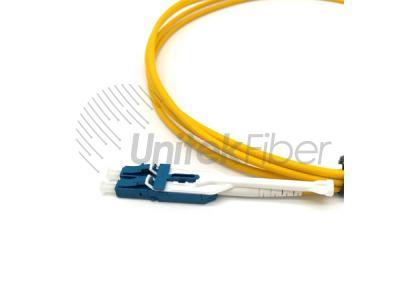 Pull-push Uniboot Optic Fiber Patch Cord LC-LC 9/125un Single Mode LSZH Flame Retardand