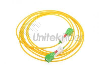 Fiber Optic Patchcord SC/APC-SC/APC LSZH 2.0mm with Auto Shutter