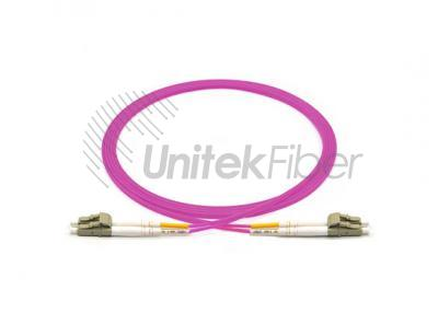 Fiber Optic Patch cord LC/UPC-LC/UPC Duplex OM4 50/125 100Gb OFNP