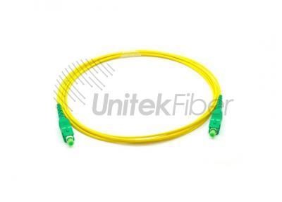 0.1dB Fiber Optic Jumpers SC/APC to SC/APC Simplex Corning Urtra Fiber